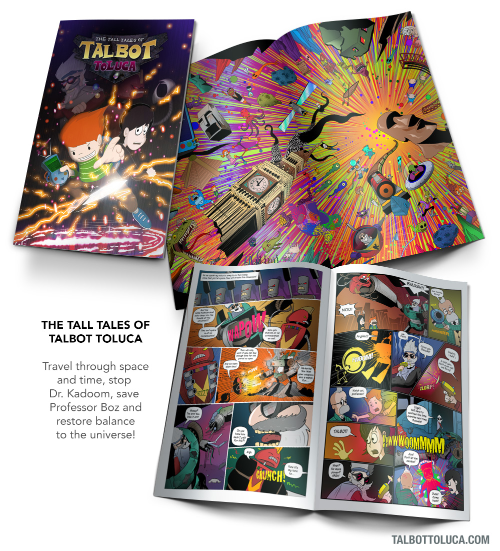 Tall Tales of Talbot Toluca Graphic Novel Comic Book Preview